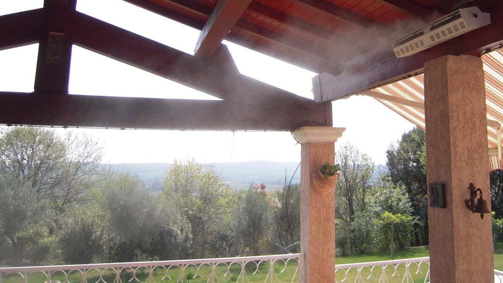 brumisateur terrasse