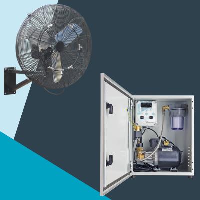 brumisation climext armext confort et ventilateur