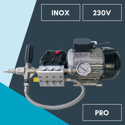 Climext Brumisateur Pompe Haute Pression 230v Inox