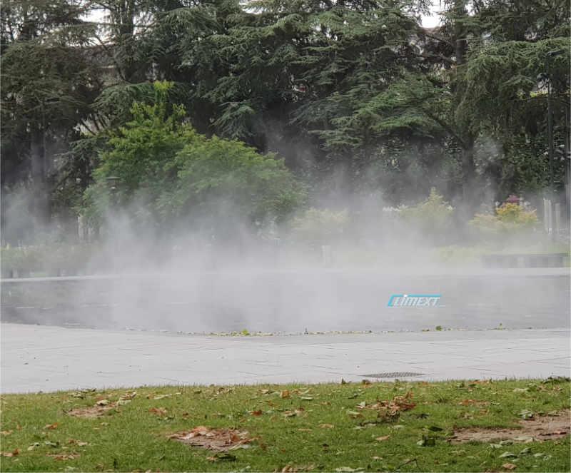 Brumisateur Climext effet de brume