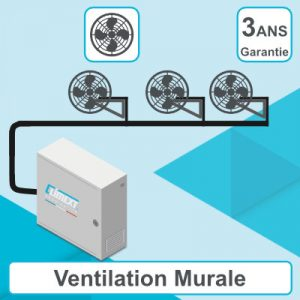 Armext Pro avec Ventilation murale