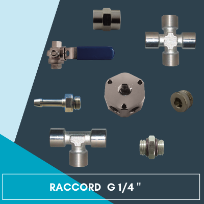 Raccords G 1/4
