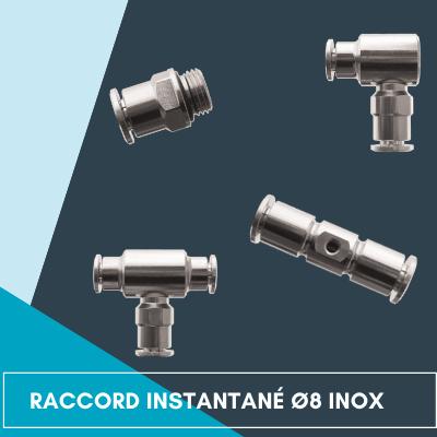 Raccords instantanés INOX