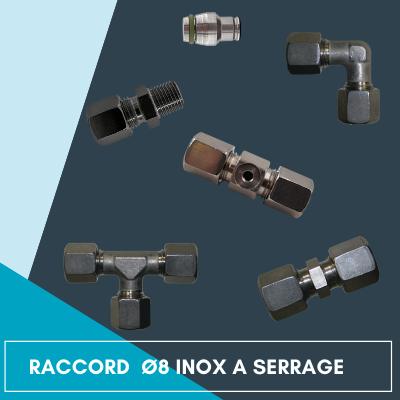 Raccords à serrage inox
