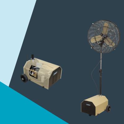 Climext Brumisateur Ventilateur Brumisateur Mobil