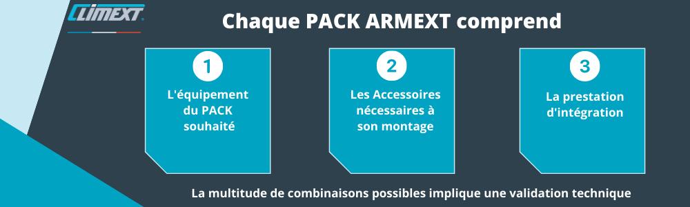 climext brumisation choix option pack armext